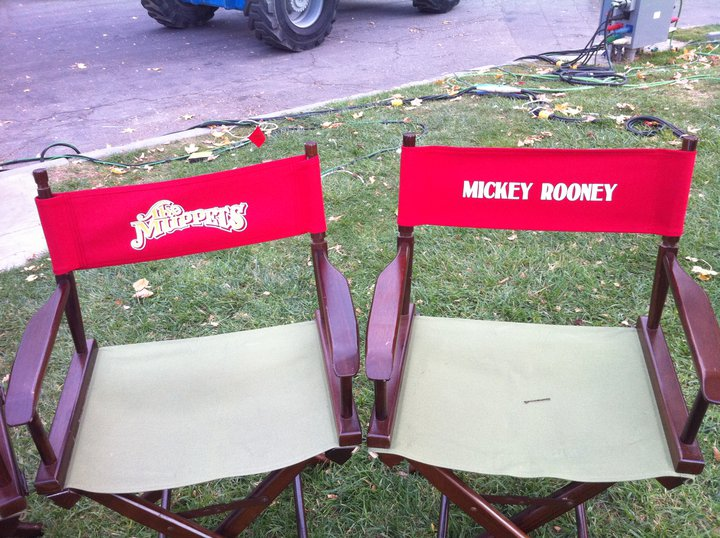 mickey rooney chair