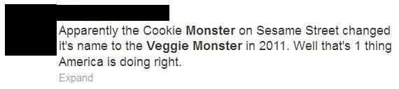 Veggie Monster M doing it right