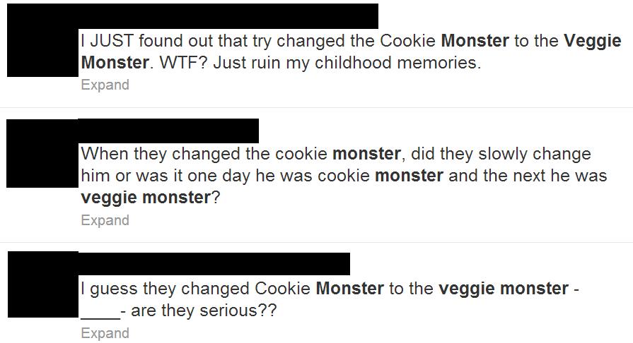 Veggie Monster Twitter