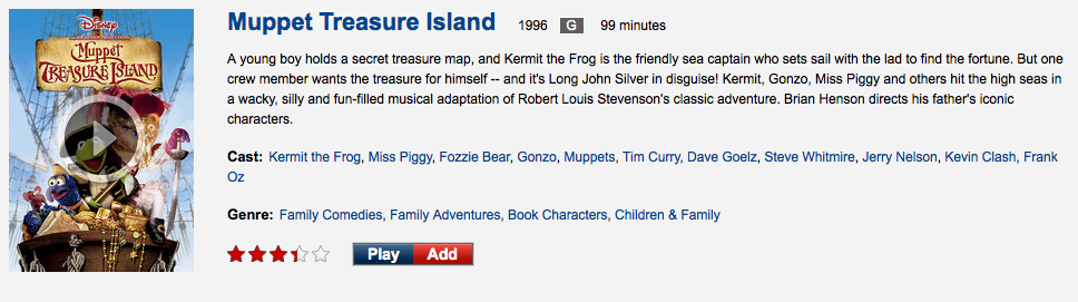 And Now There are Five Muppet Movies on Netflix