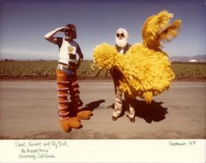 Caroll Kermit Big Bird Muppet Movie