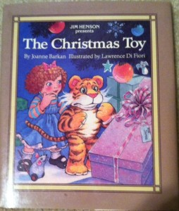 Christmas toy book