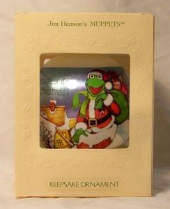 Hallmark Christmas Kermit ornament