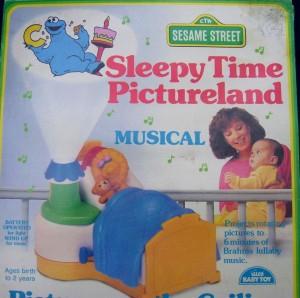 Sesame Street Sleepy Time Pictureland projector
