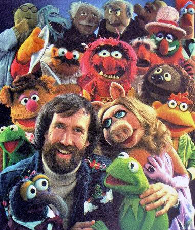 Jim and a bunch of Muppets