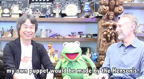 Watch a Nintendo Man Meet a Henson Man