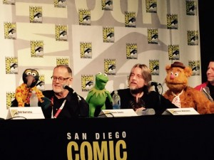 Muppet performers on panel