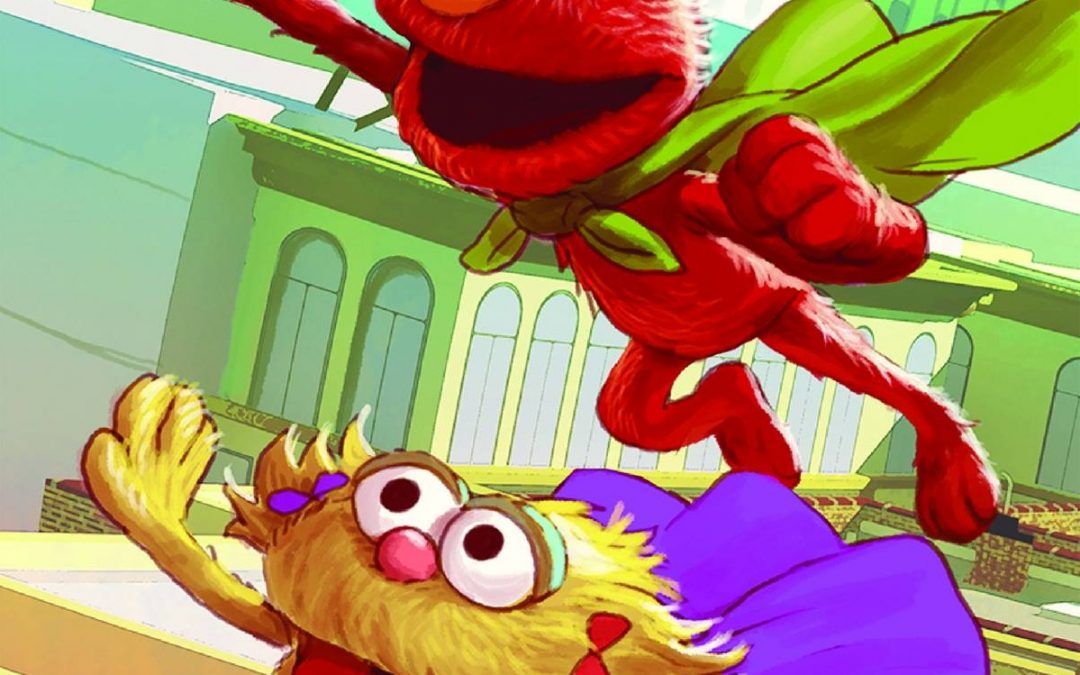 Contest: Win Sesame Street Comics and Art!