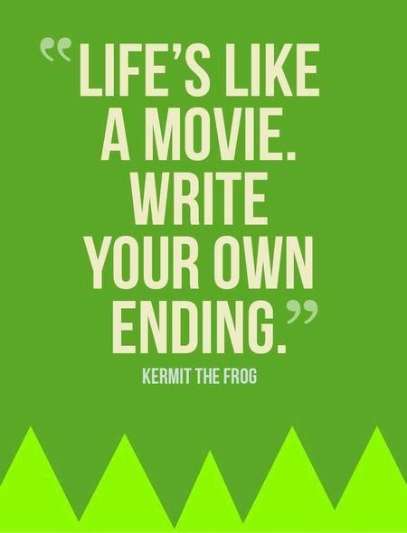 Life's Like a Movie Kermit Pinterest