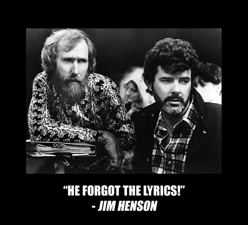 Forgot the Lyrics Jim Henson