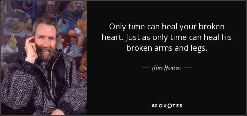 Only Time Can Heal Your Broken Heart - actually Miss Piggy from Guide to Life