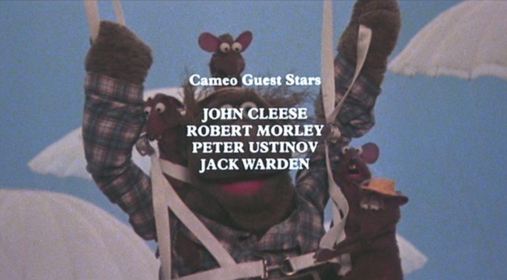 Great Muppet Caper Cameo Guest Stars j