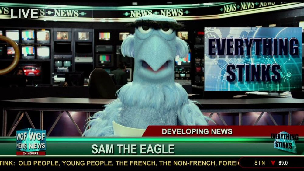 """Muppets Cure """"Too Much News"""" Syndrome"""