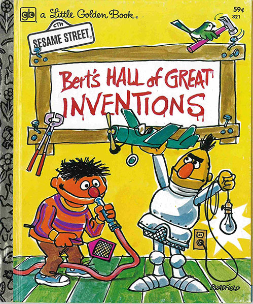 Muppet Book Club FOLLOW-UP: Bert's Hall of Great Inventions