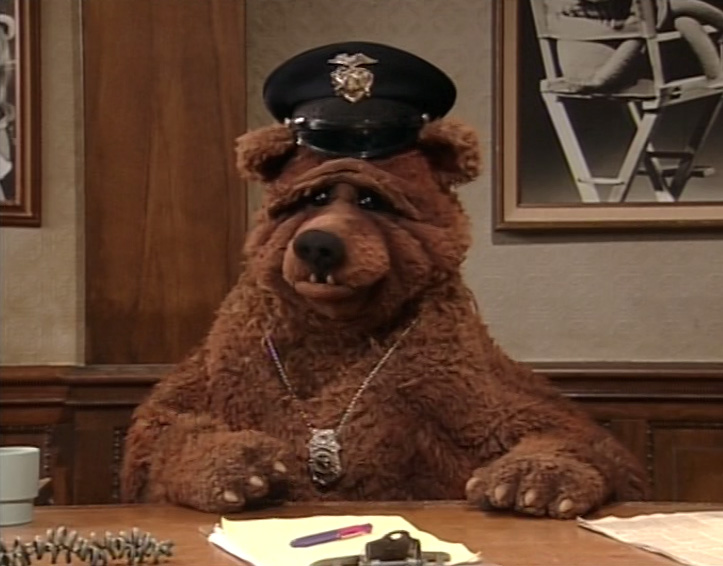 My Favorite Muppet of the Moment – Bobo the Bear