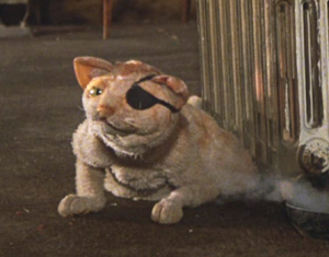 My Favorite Muppet of the Moment – Gaffer the Backstage Cat