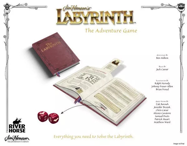 Dungeons and Dragons and Oubilettes: Labyrinth the RPG