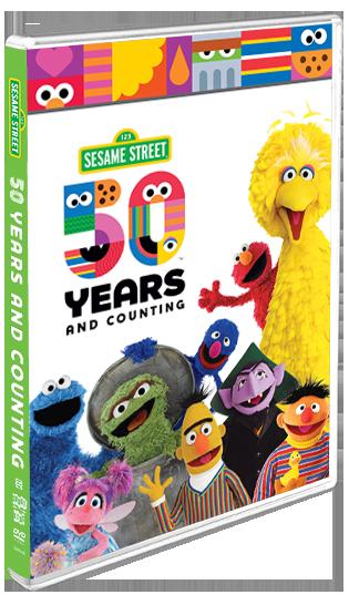 Sesame Street 50th Anniversary DVD Announced