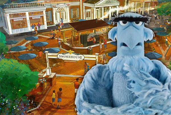 Sam the Eagle Themed Restaurant Coming to Disney World