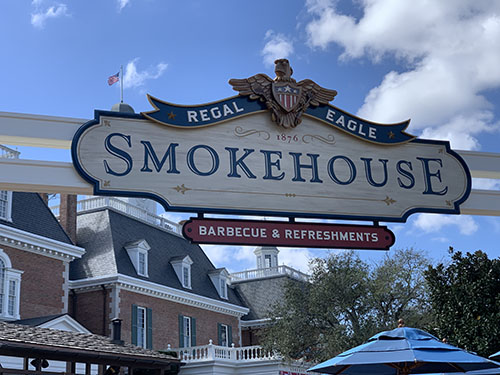 Sam's Regal Eagle Smokehouse Soars into EPCOT