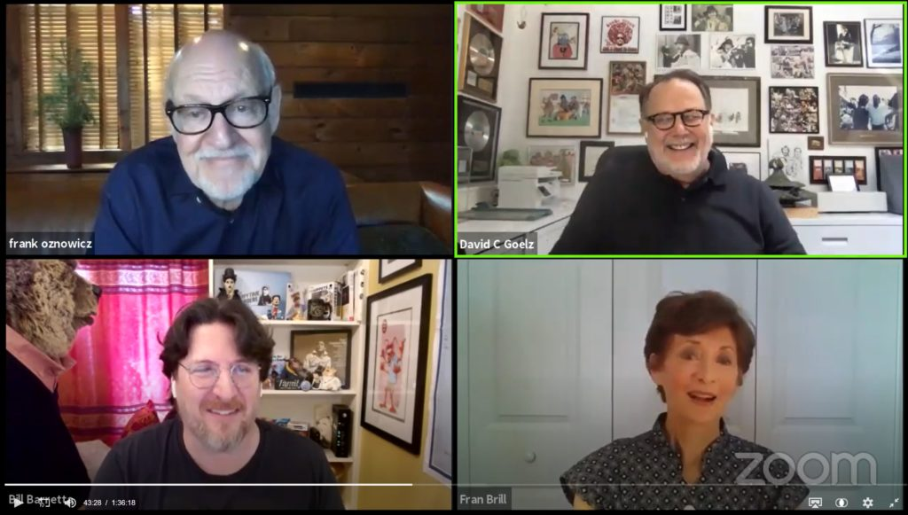 Frank Oz Broke His Own Rule (and Other Highlights from the Muppet Guys Talking Live Video Event)