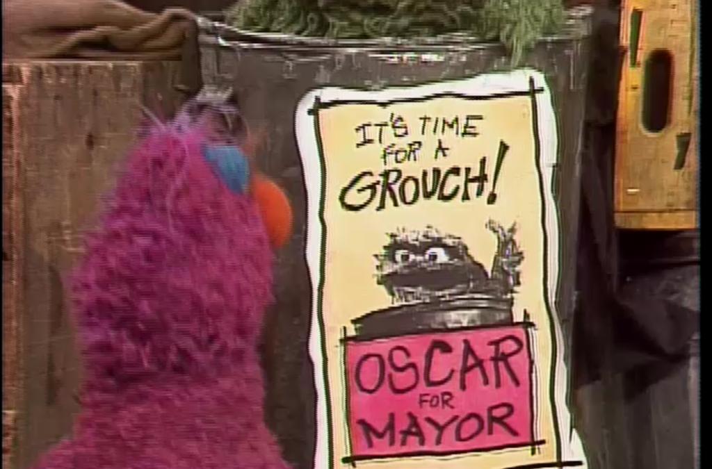 Sesame Rewind: Oscar for Mayor