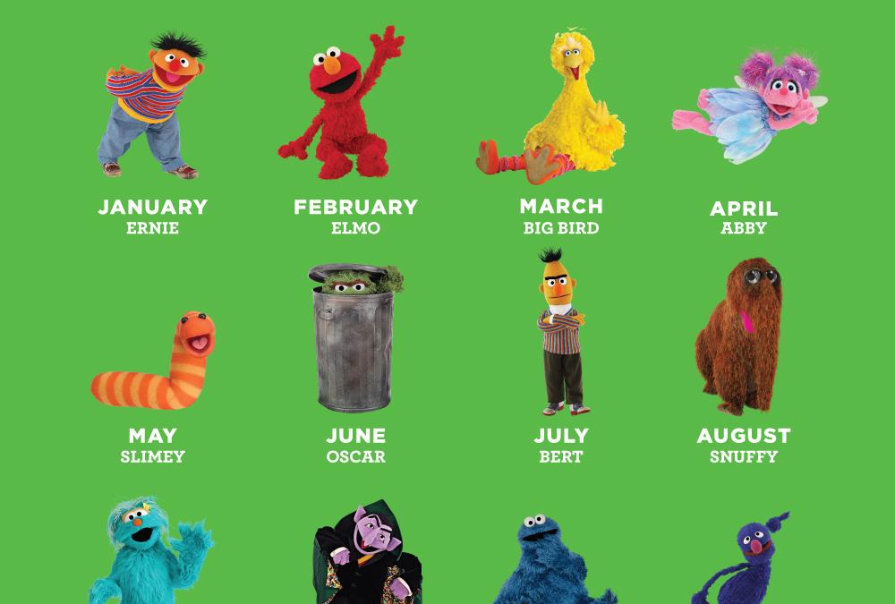 Finally, the TRUE Sesame Street Zodiac