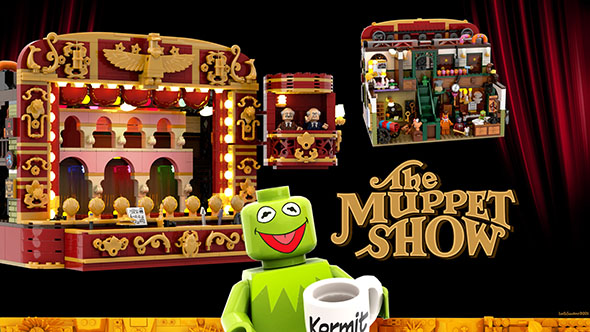The Muppet Show LEGO Set That May Never Be
