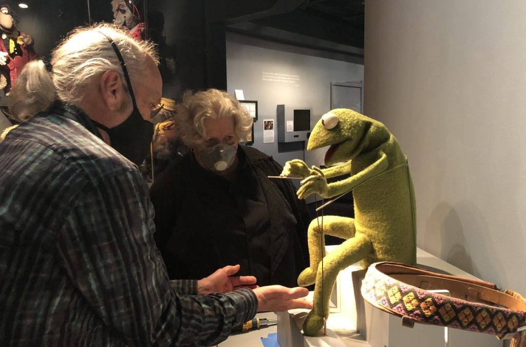 See a Vintage Kermit Puppet When the Museum of the Moving Image Reopens