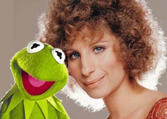 Listen to Barbra Streisand's Duet with Kermit