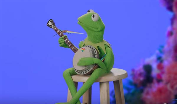 """Watch Kermit in """"This Is Me"""" Pride Celebration"""
