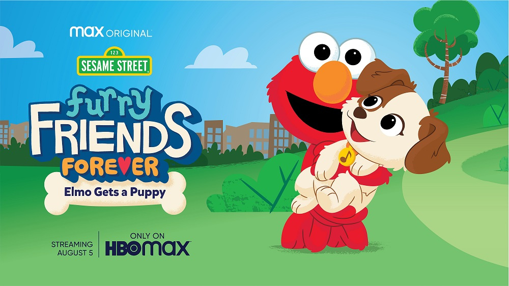Elmo Gets a New Puppy and Animated Special