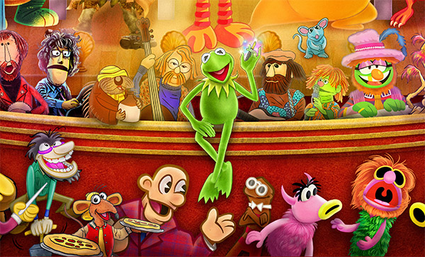 Presenting The Great Muppet Mural!