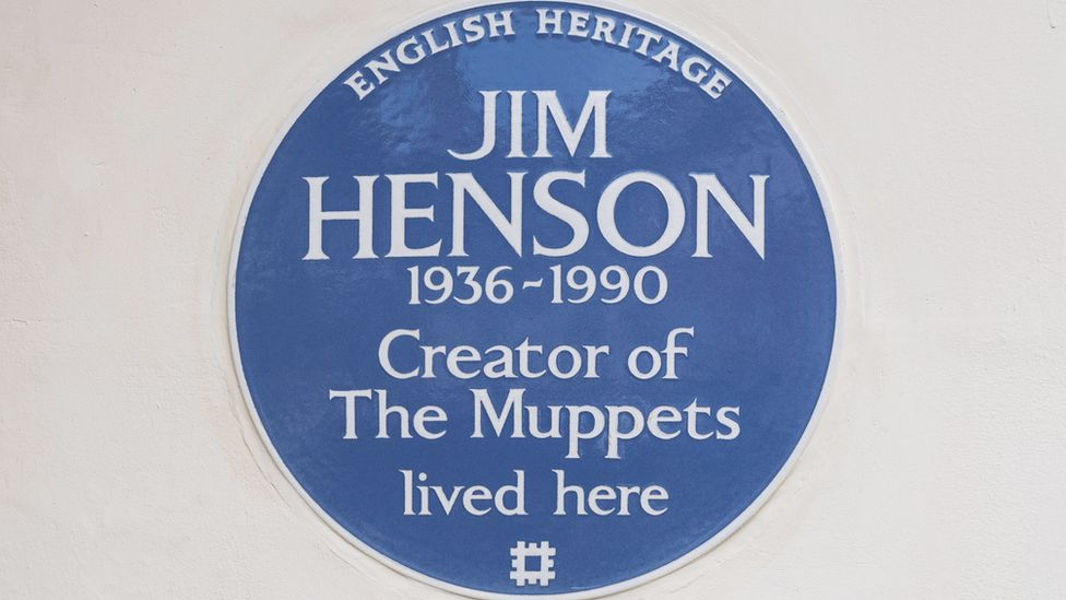 Jim Henson's UK Home Honored with Plaque