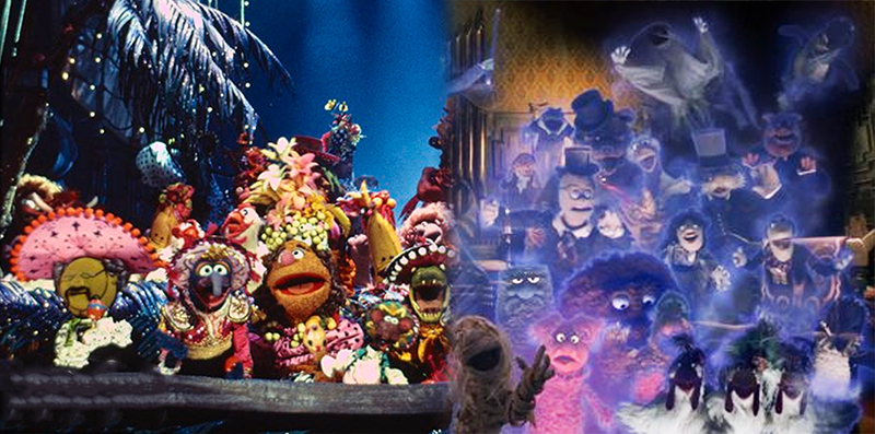 Muppets Haunted Mansion is Just Muppet Treasure Island, Don't @ Me